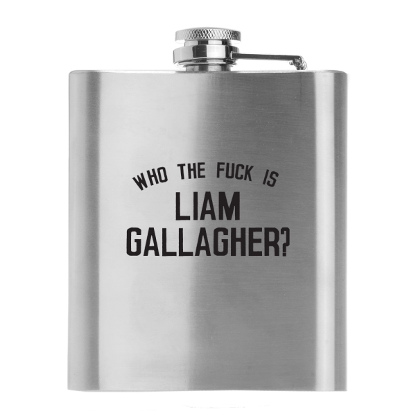 Liam Gallagher Store - Hip Flask