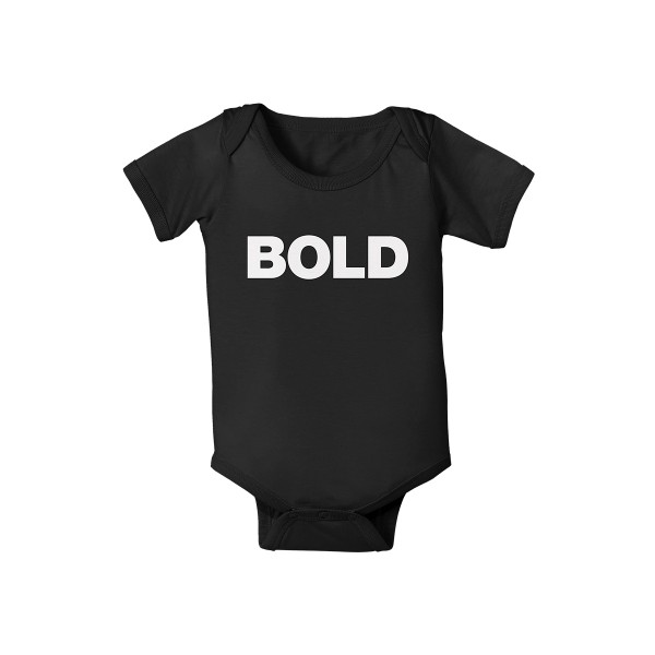 Bold Baby Grow - Liam Gallagher Merch