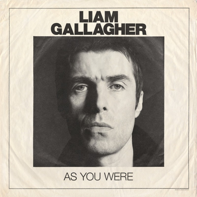 As You Were CD - Liam Gallagher Store
