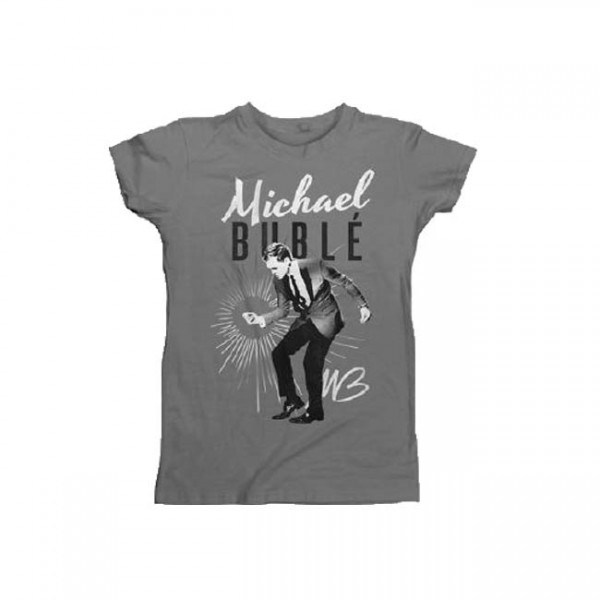 Michael Buble Snap Women's T-Shirt