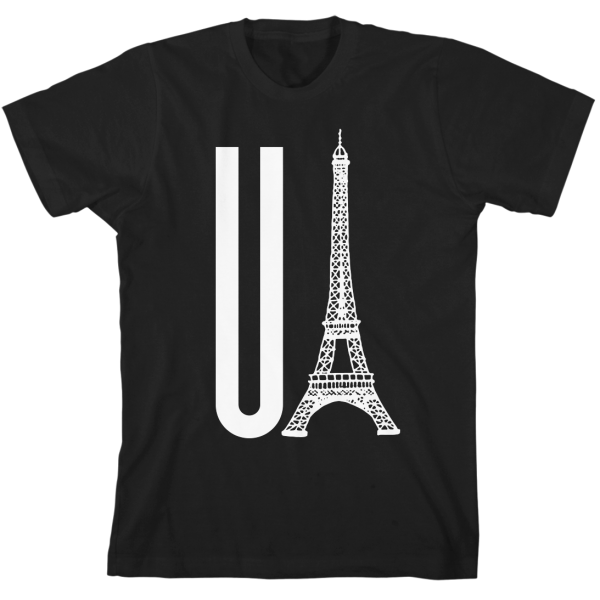 Black You Eiffel T-Shirt