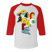 Paramore Optical Stack Raglan T-Shirt