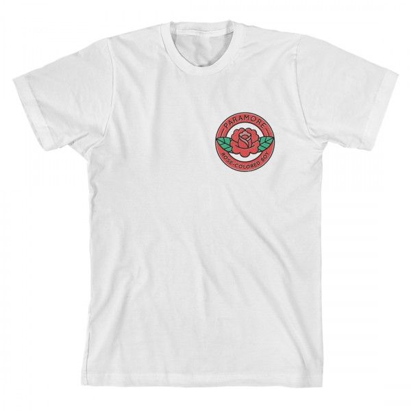 Paramore Rose-Colored Boy Pocket Badge T-Shirt