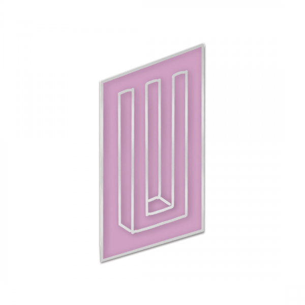 Neon Bars Enamel Pin