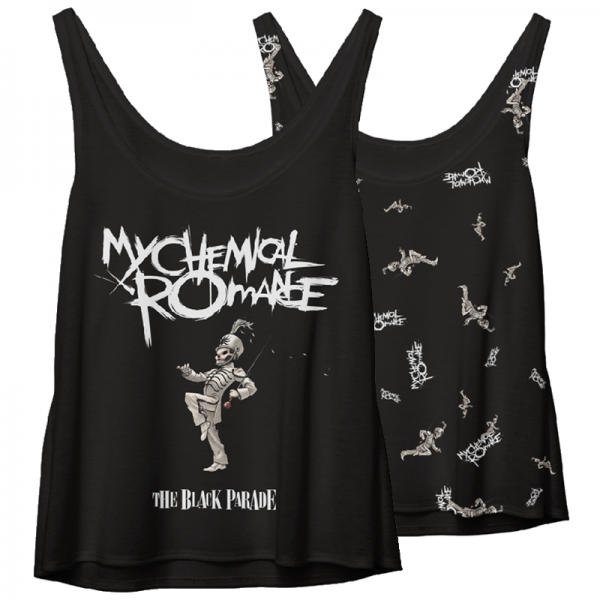 MY CHEMICAL ROMANCE TBP PATTERN WOMEN'S TANK