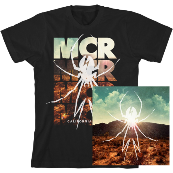 DANGER DAYS LIMITED EDITION COLORED VINYL + T-SHIRT