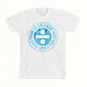 Spin Stamp White Tour T-Shirt