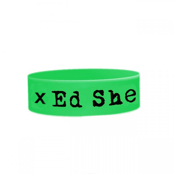 Green x Rubber Wristband