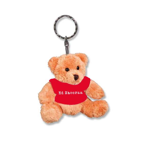 Bear Keyring - Red