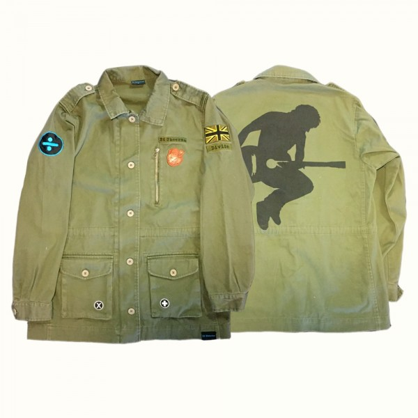 Divide Military Patch Jacket (front/back)