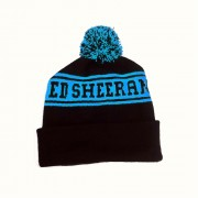 Ed Sheeran - Blue Bobble Hat